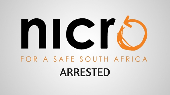 NICRO arrested