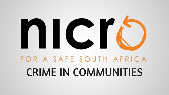 NICRO crime in communities
