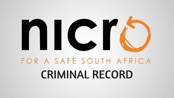 NICRO criminal record